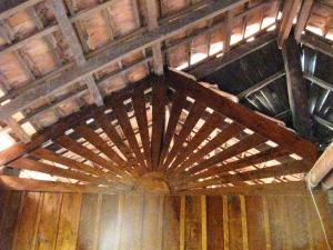Internal wooden detail