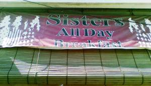 The Sisters All Day Cafe and Bakery. Street 450.Russian Market.