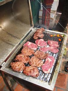 The mouth watering BBQ