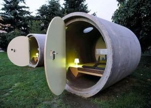 Daspark Hotel / Austria. Concrete minimilism at it's best.