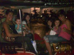 A Tuk Tuk full of girls !