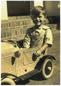 His first car....