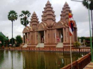 "Hmmmm...""looks"" looks Angkor Wat...."