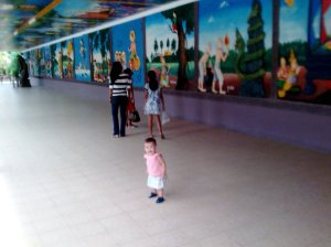 "The ""Mural"" room"