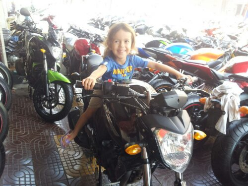 Grace has Moto GP aspirations